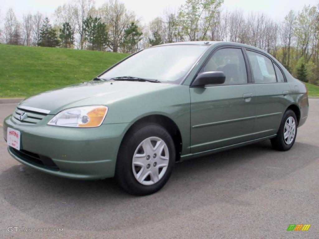 2003 galapagos green honda civic lx sedan 29064600 car color galleries. Black Bedroom Furniture Sets. Home Design Ideas
