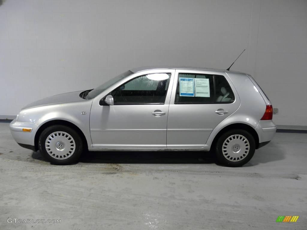 2001 Satin Silver Metallic Volkswagen Golf GLS 4 Door #2904958 Photo #7 | GTCarLot.com - Car ...