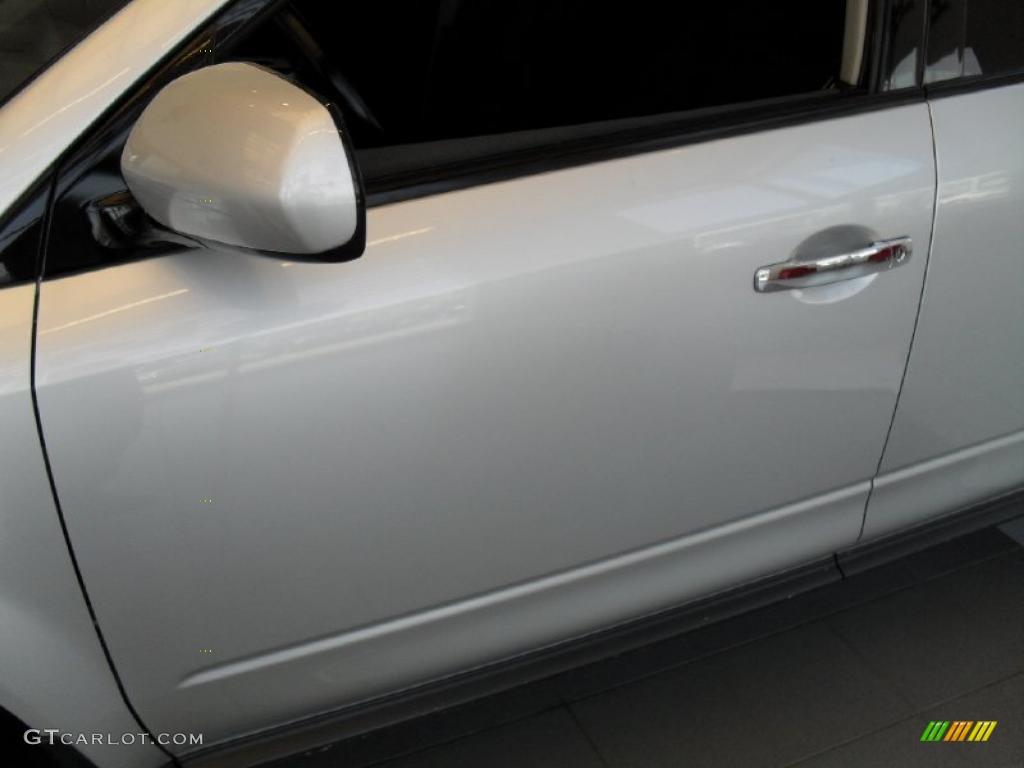 2007 Murano S AWD - Brilliant Silver Metallic / Charcoal photo #3