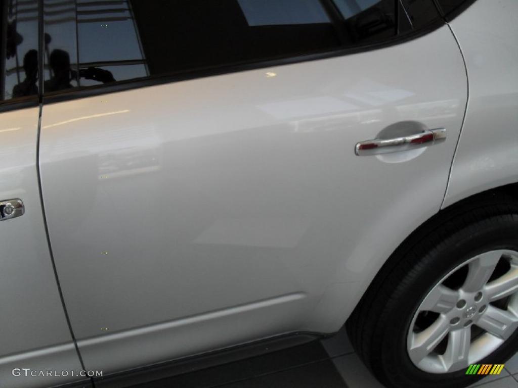 2007 Murano S AWD - Brilliant Silver Metallic / Charcoal photo #4