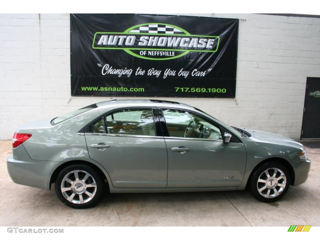 2008 MKZ Sedan - Moss Green Metallic / Sand photo #1