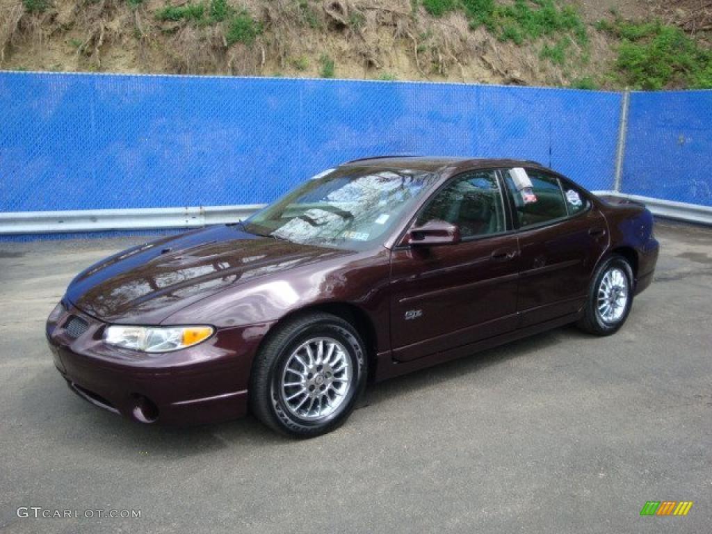 2002 dark cherry red metallic pontiac grand prix gtp sedan 29090991 car color. Black Bedroom Furniture Sets. Home Design Ideas