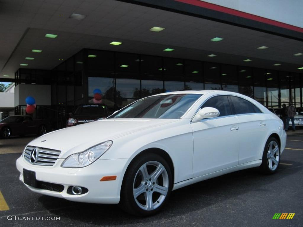 2006 cls 500 alabaster white ash grey photo 1