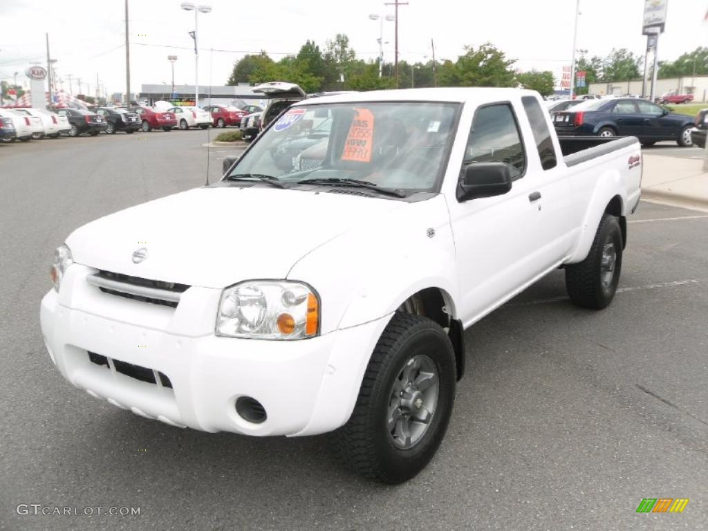 2004 avalanche white nissan frontier xe v6 king cab 4x4 29097754 2004 frontier xe v6 king cab 4x4 avalanche white gray photo 1 vanachro Images