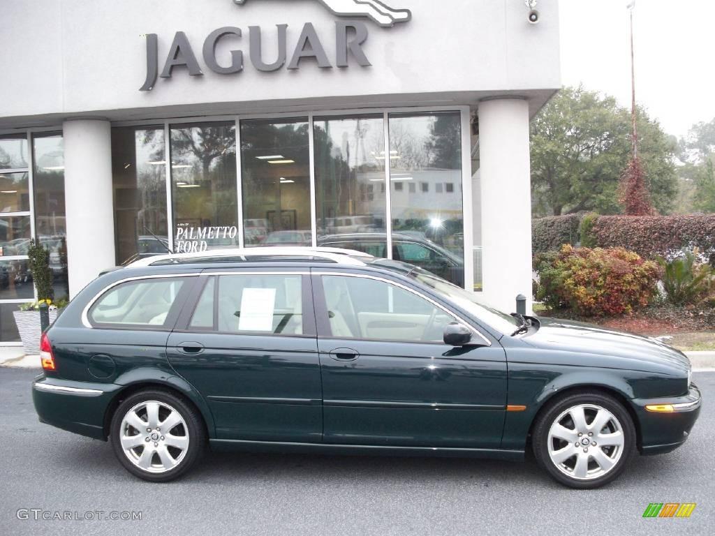 2005 british racing green jaguar x type 3 0 sport wagon 2907444 car color. Black Bedroom Furniture Sets. Home Design Ideas