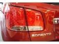 2011 Spicy Red Kia Sorento LX  photo #50