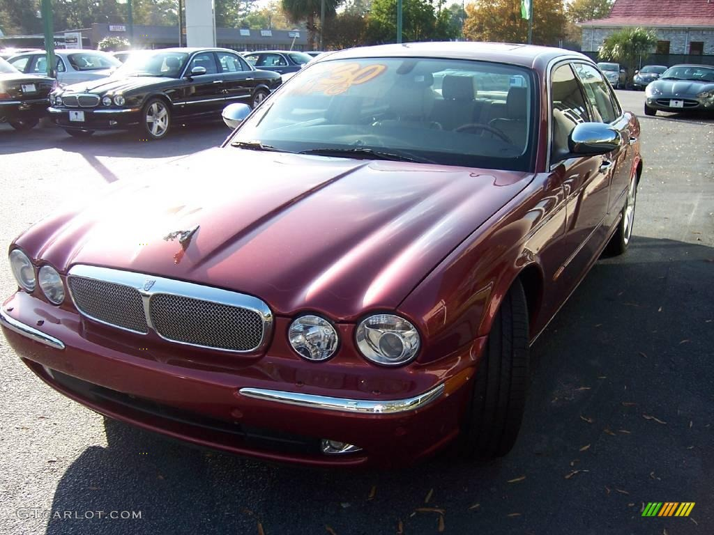 2005 radiance red metallic jaguar xj super v8 2907435. Black Bedroom Furniture Sets. Home Design Ideas
