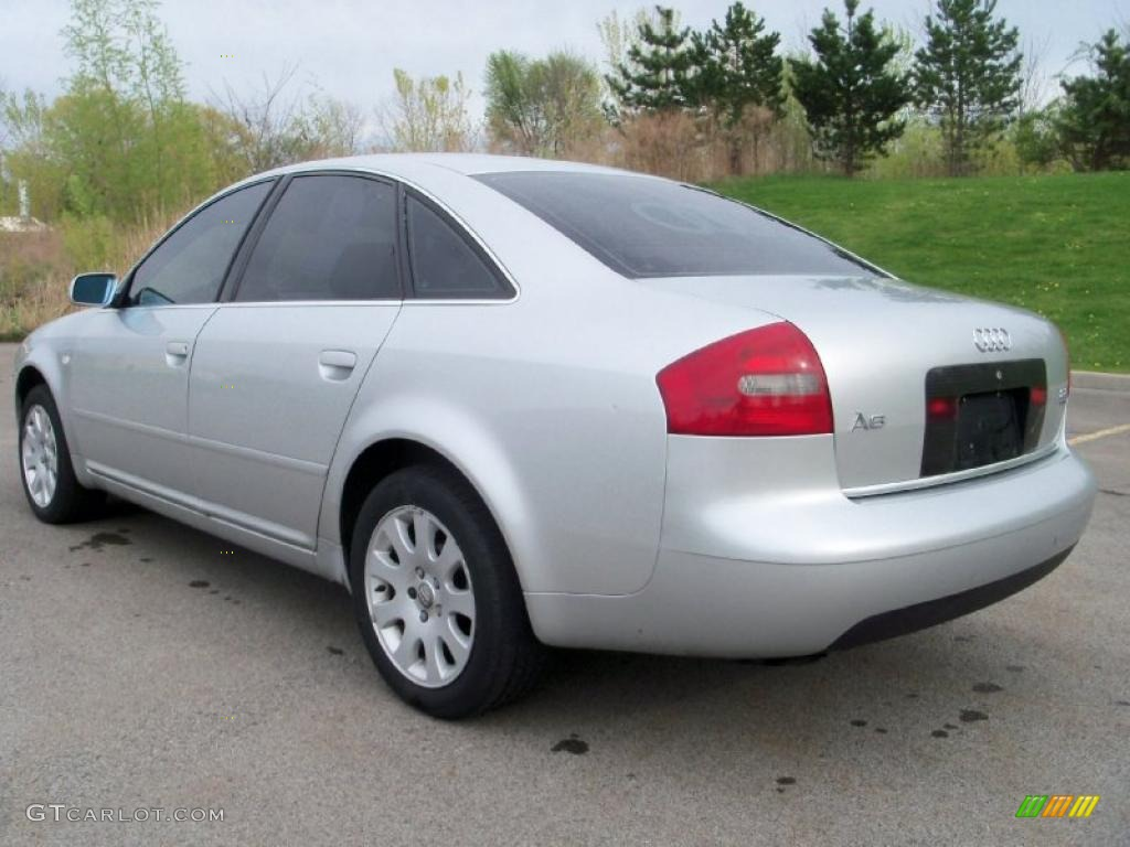 2000 light silver metallic audi a6 2 8 quattro sedan. Black Bedroom Furniture Sets. Home Design Ideas