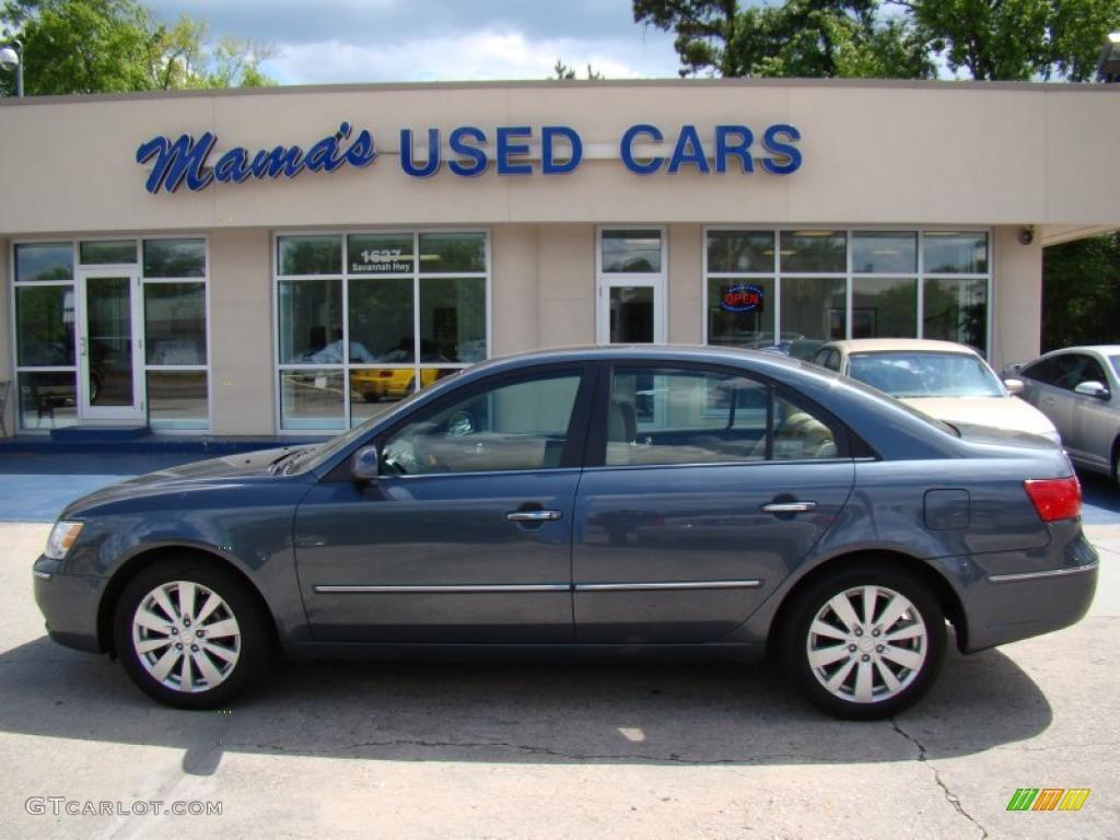 Great Slate Blue Hyundai Sonata. Hyundai Sonata Limited
