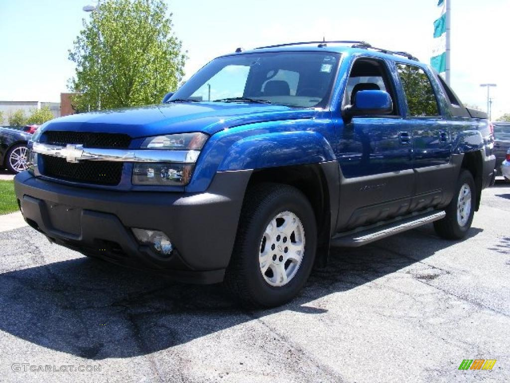 2004 arrival blue metallic chevrolet avalanche 1500 z71 4x4 29200920 car color. Black Bedroom Furniture Sets. Home Design Ideas