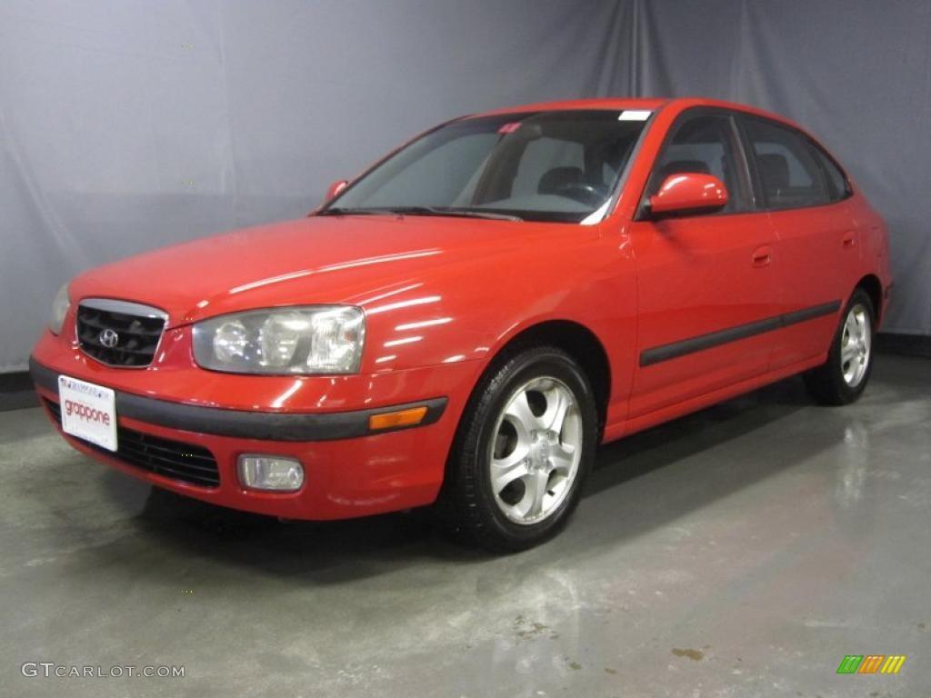 2003 rally red hyundai elantra gt hatchback 29201390 gtcarlot com car color galleries gtcarlot com