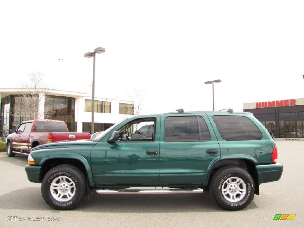 Timberline green pearlcoat dodge durango
