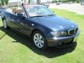 Orient Blue Metallic - 3 Series 325i Convertible Photo No. 2