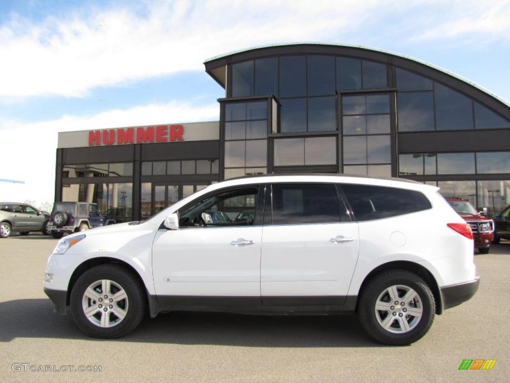 2010 Summit White Chevrolet Traverse Lt Awd 29201577