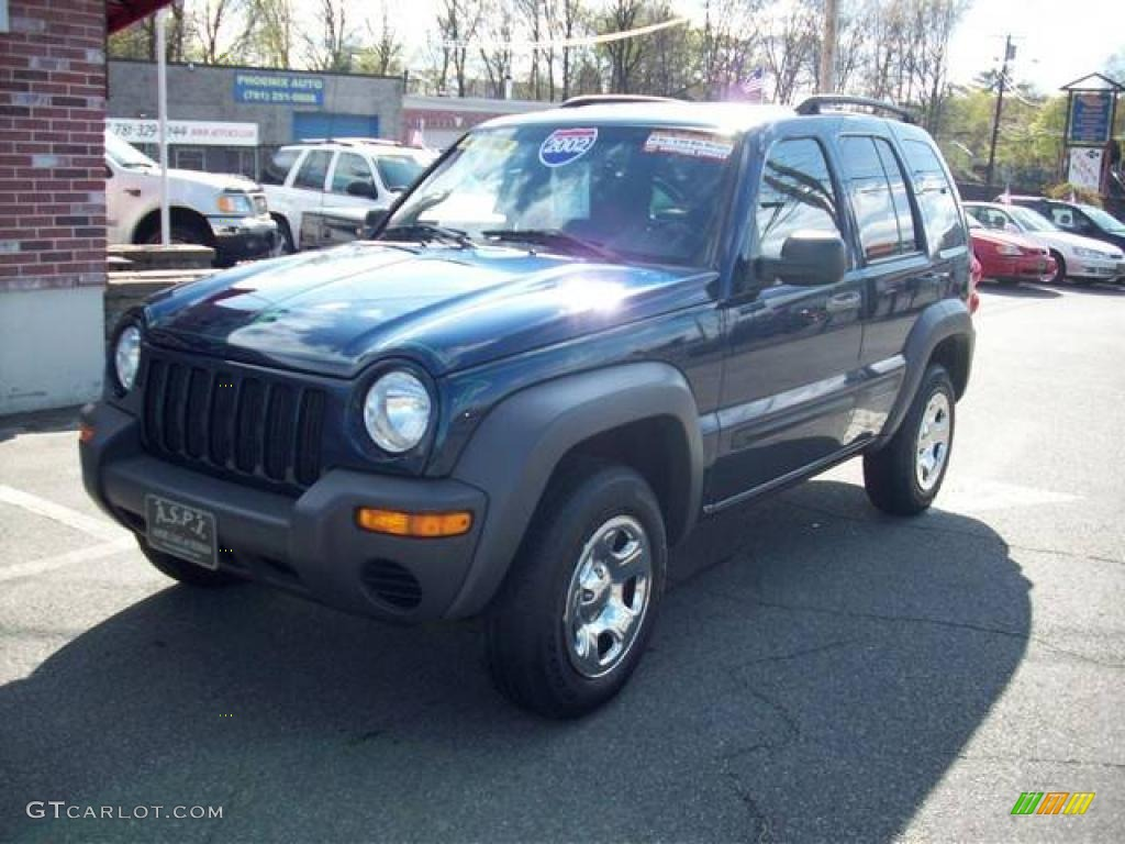 Patriot Blue Pearlcoat Jeep Liberty