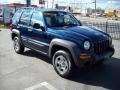 2002 Patriot Blue Pearlcoat Jeep Liberty Sport 4x4  photo #7