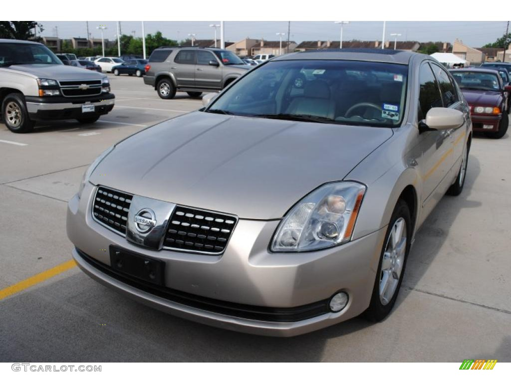 2005 coral sand metallic nissan maxima 3 5 sl 29201472. Black Bedroom Furniture Sets. Home Design Ideas