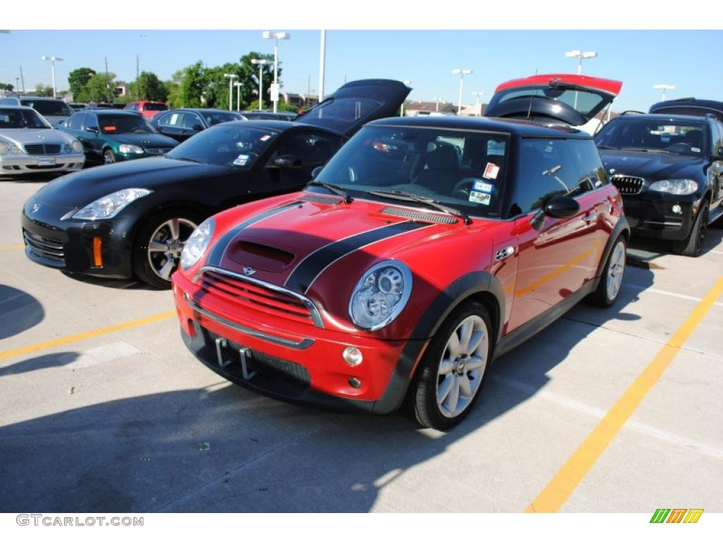 2006 chili red mini cooper s hardtop 29201473 gtcarlot. Black Bedroom Furniture Sets. Home Design Ideas