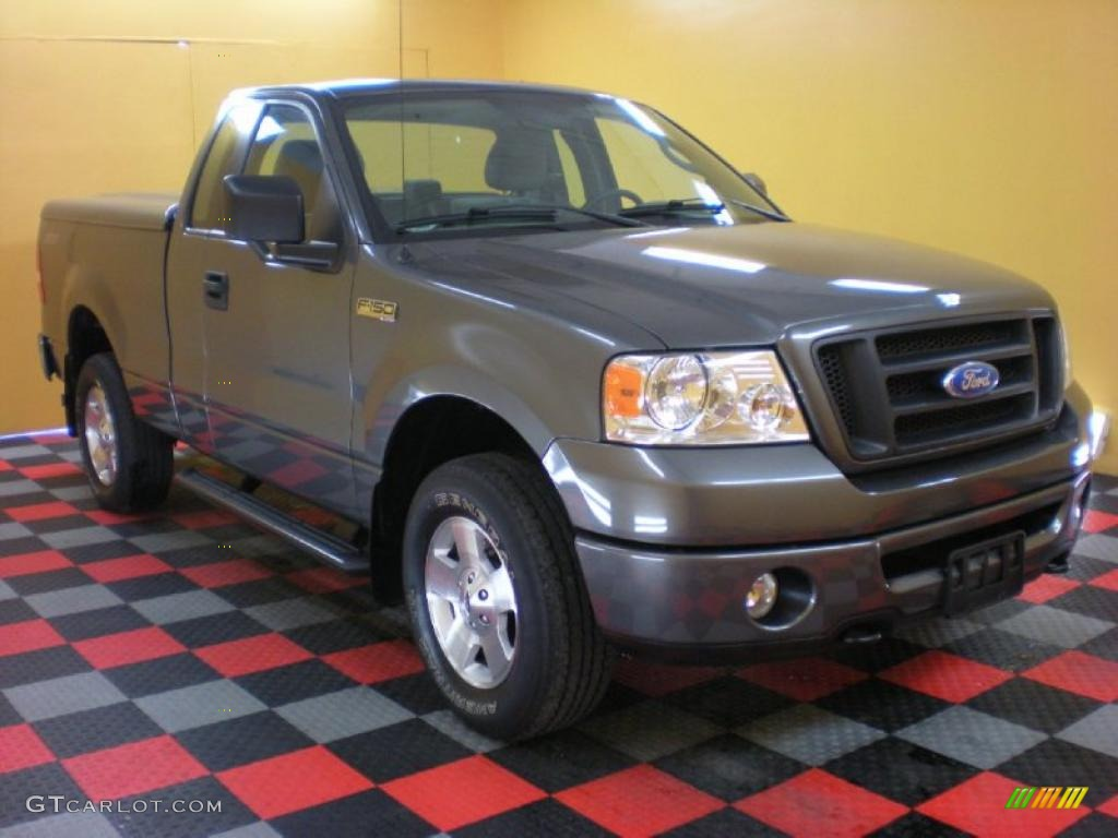Ford ford 2006 f150 : 2006 Dark Shadow Grey Metallic Ford F150 STX Regular Cab 4x4 ...