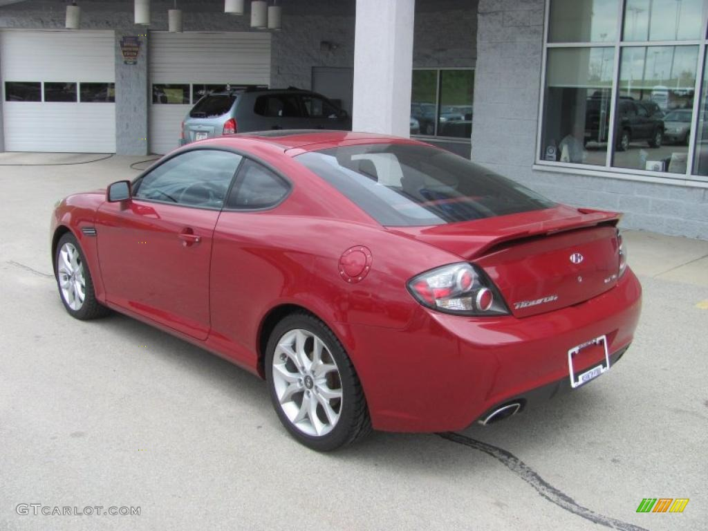 2007 redfire pearl hyundai tiburon gt limited 29201166. Black Bedroom Furniture Sets. Home Design Ideas