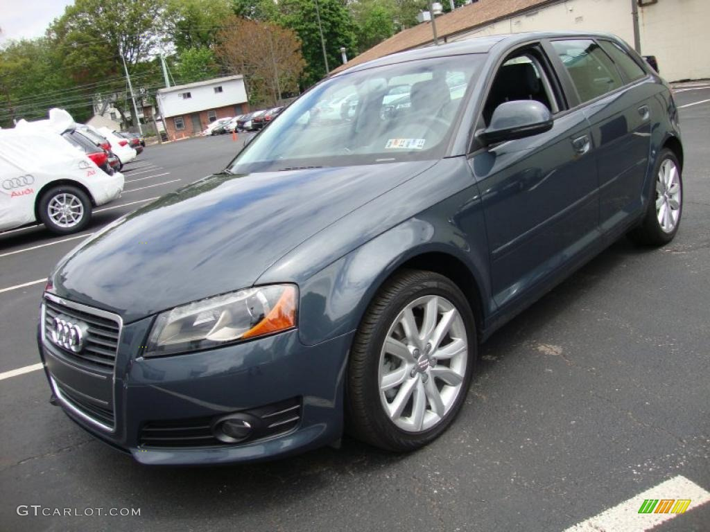 2009 meteor grey pearl effect audi a3 2 0t quattro 29201305 photo 2 car color. Black Bedroom Furniture Sets. Home Design Ideas