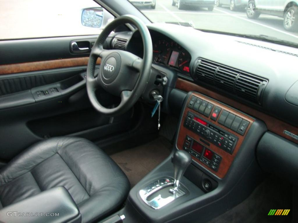 Aluminum Silver Metallic Audi A Quattro Avant - 1998 audi a4