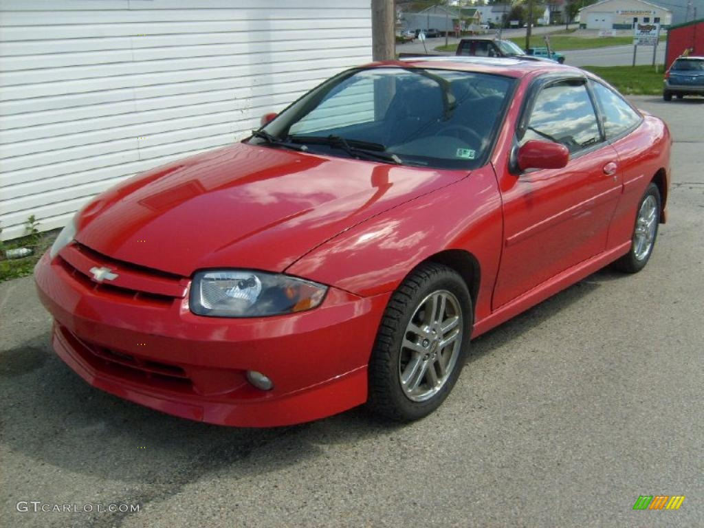 2003 victory red chevrolet cavalier ls sport coupe 29266292 gtcarlot com car color galleries gtcarlot com
