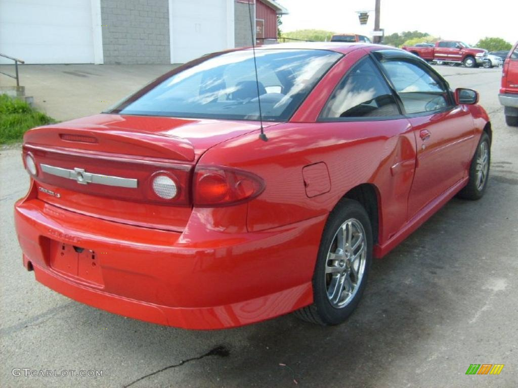 2003 victory red chevrolet cavalier ls sport coupe 29266292 photo 5 gtcarlot com car color galleries gtcarlot com