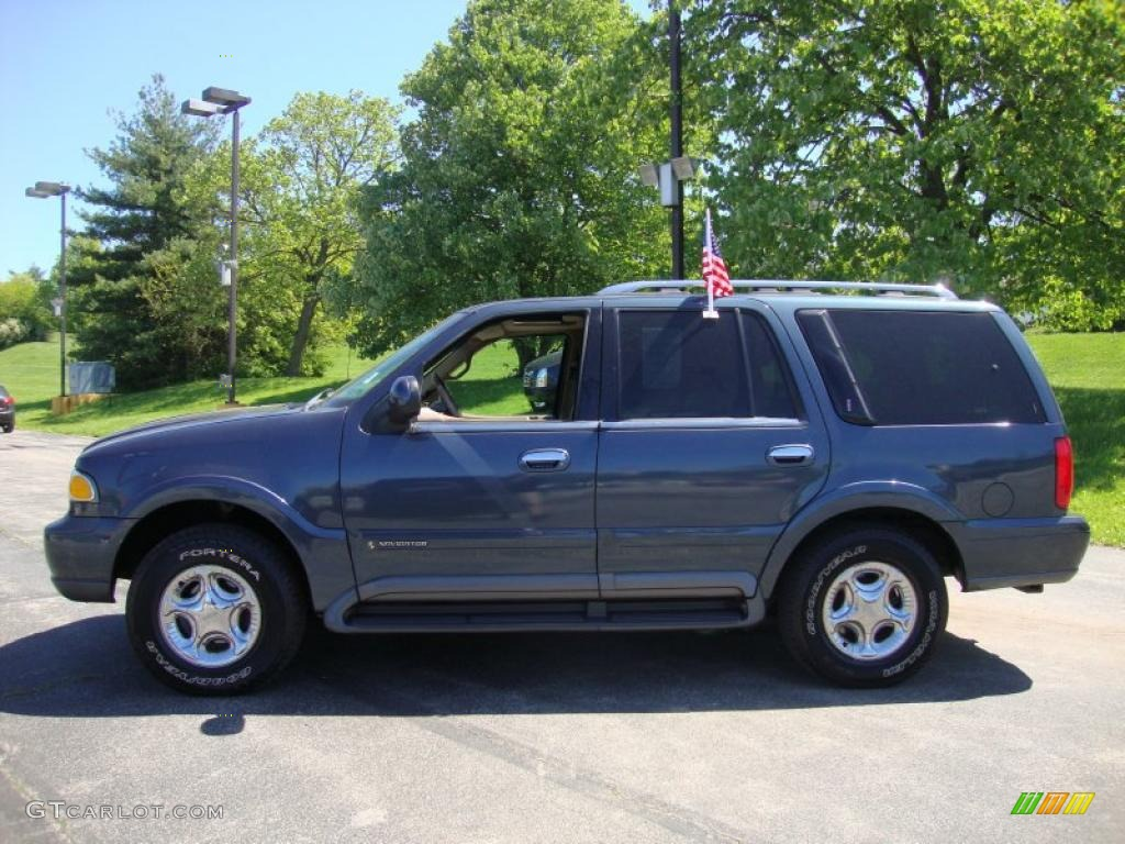 1999 Charcoal Blue Metallic Lincoln Navigator 4x4 29265873 Photo 10 Car Color