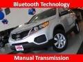 2011 Bright Silver Kia Sorento LX  photo #1