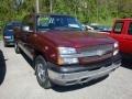 Dark Carmine Red Metallic 2003 Chevrolet Silverado 1500 Gallery