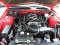 2007 Torch Red Ford Mustang GT Premium Convertible  photo #16