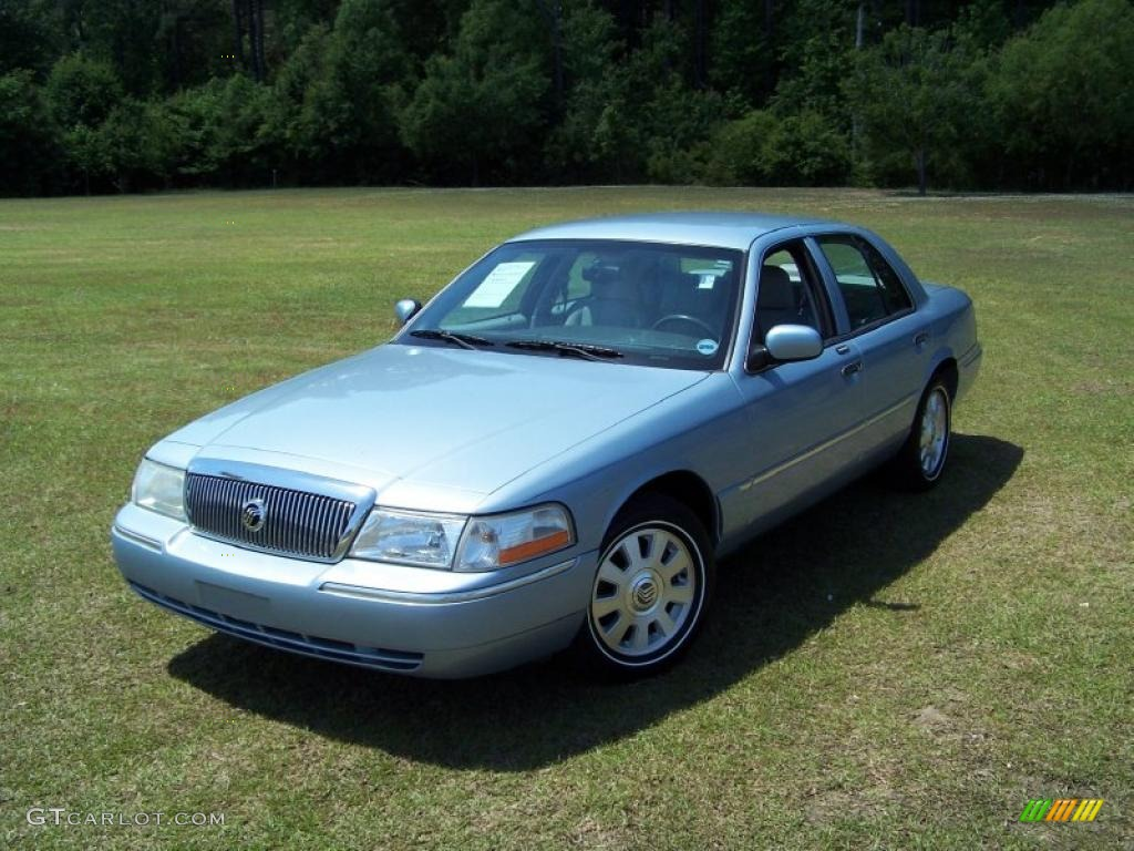 2003 light ice blue metallic mercury grand marquis ls 29266618 car color galleries. Black Bedroom Furniture Sets. Home Design Ideas