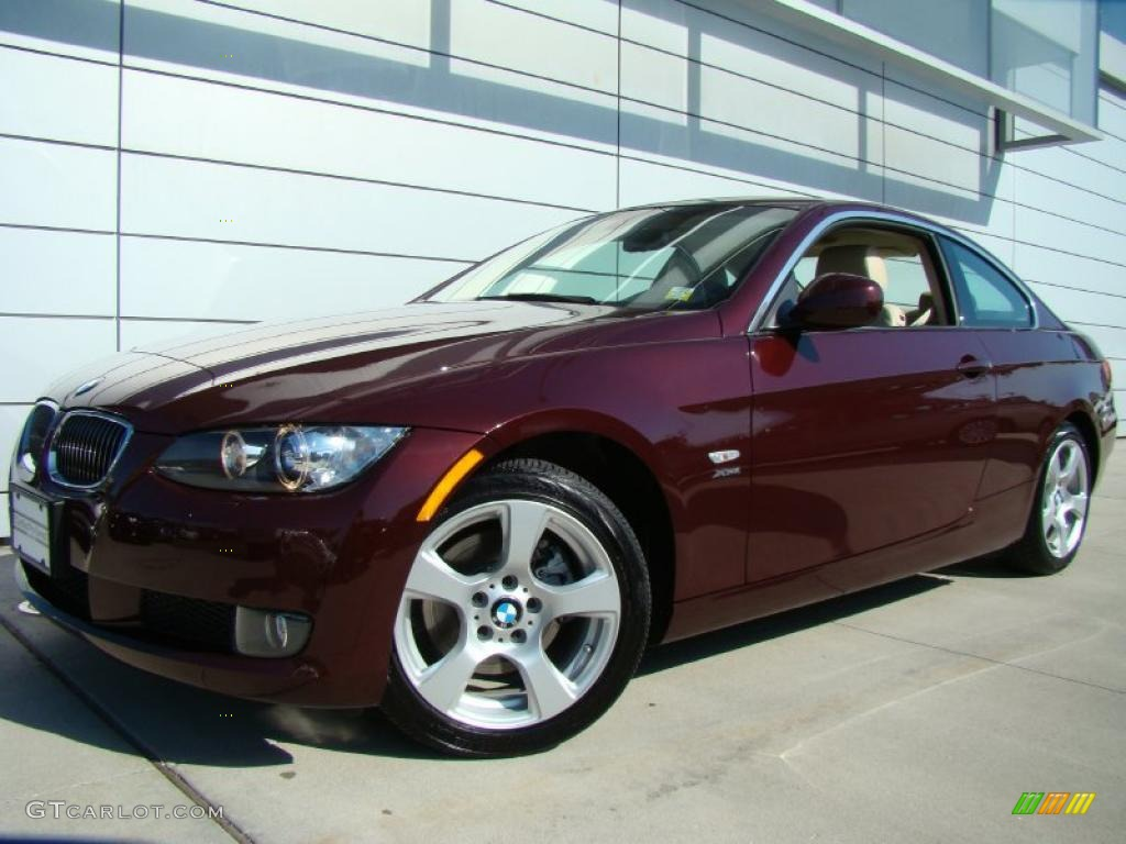 2010 barbera red metallic bmw 3 series 328i xdrive coupe. Black Bedroom Furniture Sets. Home Design Ideas