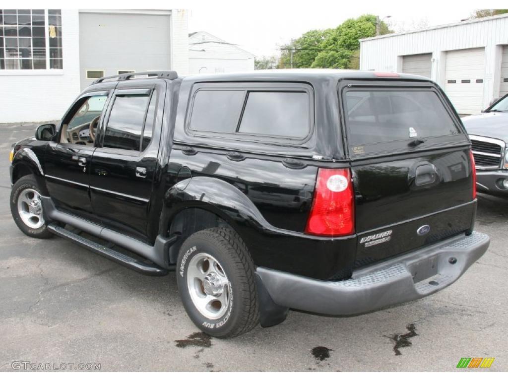2005 black clearcoat ford explorer sport trac xlt 4x4 29343013 photo 8 car. Black Bedroom Furniture Sets. Home Design Ideas