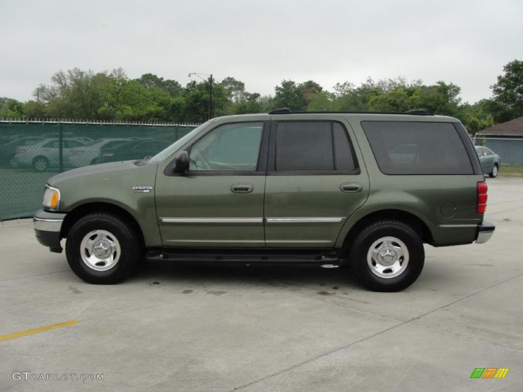 2001 Estate Green Metallic Ford Expedition Xlt 29342579