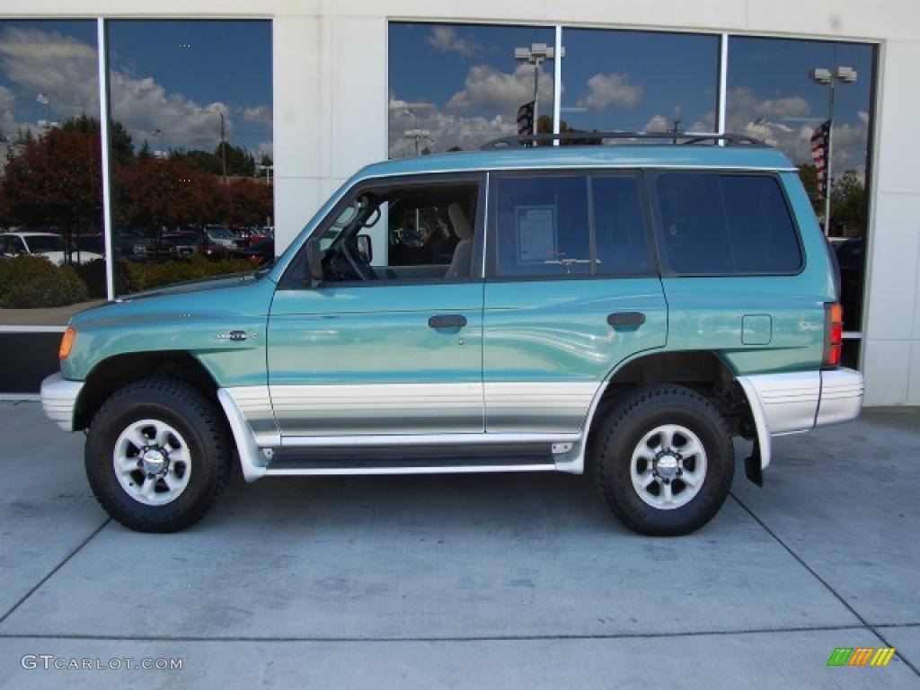 1998 montero 4x4 green metallic gray photo 6 - Mitsubishi Montero 1998