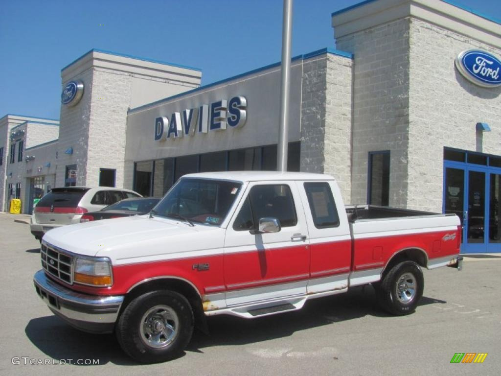 1996 oxford white ford f150 xlt extended cab 4x4 29342512 gtcarlot com car color galleries
