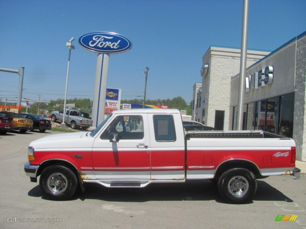 1996 oxford white ford f150 xlt extended cab 4x4 29342512 photo 2 car color. Black Bedroom Furniture Sets. Home Design Ideas