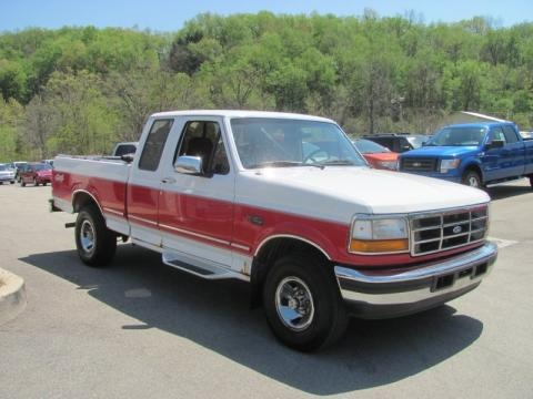 1996 Ford F150 XLT Extended Cab 4x4 Data, Info and Specs