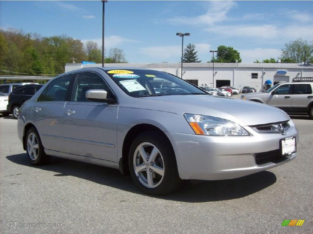 2003 honda accord ex l v6 6mt satin silver metallic car. Black Bedroom Furniture Sets. Home Design Ideas