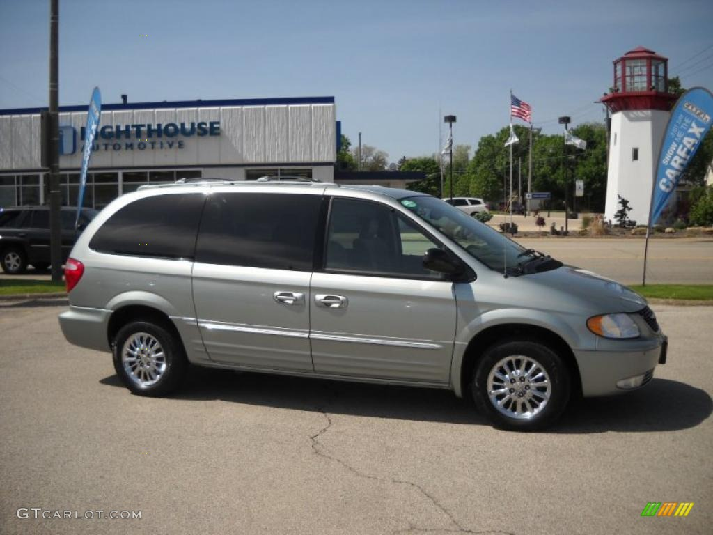 2003 town country limited satin jade pearl taupe photo 1