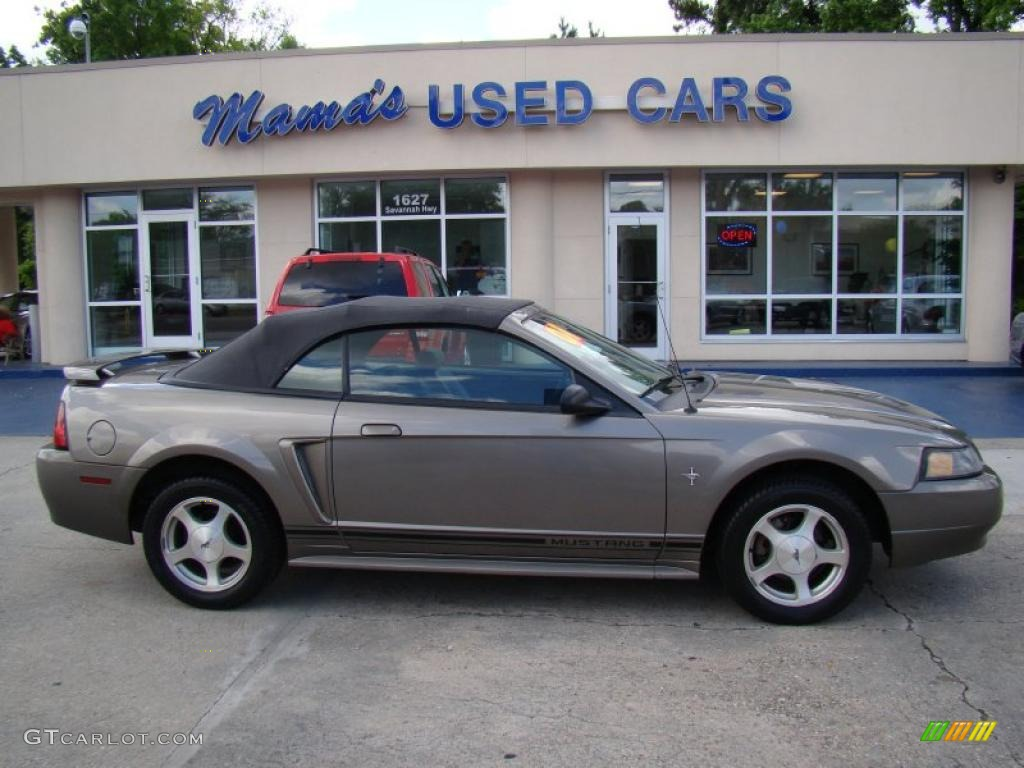 2005 Ford Mustang V6 Deluxe >> 2001 Mineral Grey Metallic Ford Mustang V6 Convertible