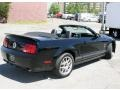 2007 Black Ford Mustang Shelby GT500 Convertible  photo #2