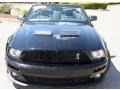 2007 Black Ford Mustang Shelby GT500 Convertible  photo #9