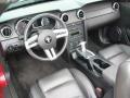 2007 Redfire Metallic Ford Mustang V6 Premium Convertible  photo #18