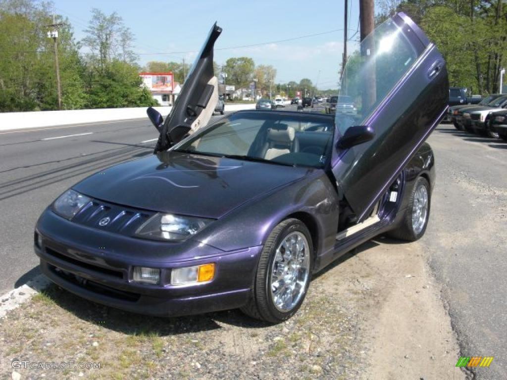 Deep Purple Metallic 300zx Nissan Convertible