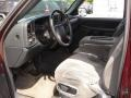 2000 Dark Carmine Red Metallic Chevrolet Silverado 1500 LS Regular Cab  photo #10