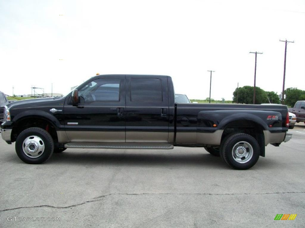 2006 black ford f350 super duty king ranch crew cab 4x4. Black Bedroom Furniture Sets. Home Design Ideas