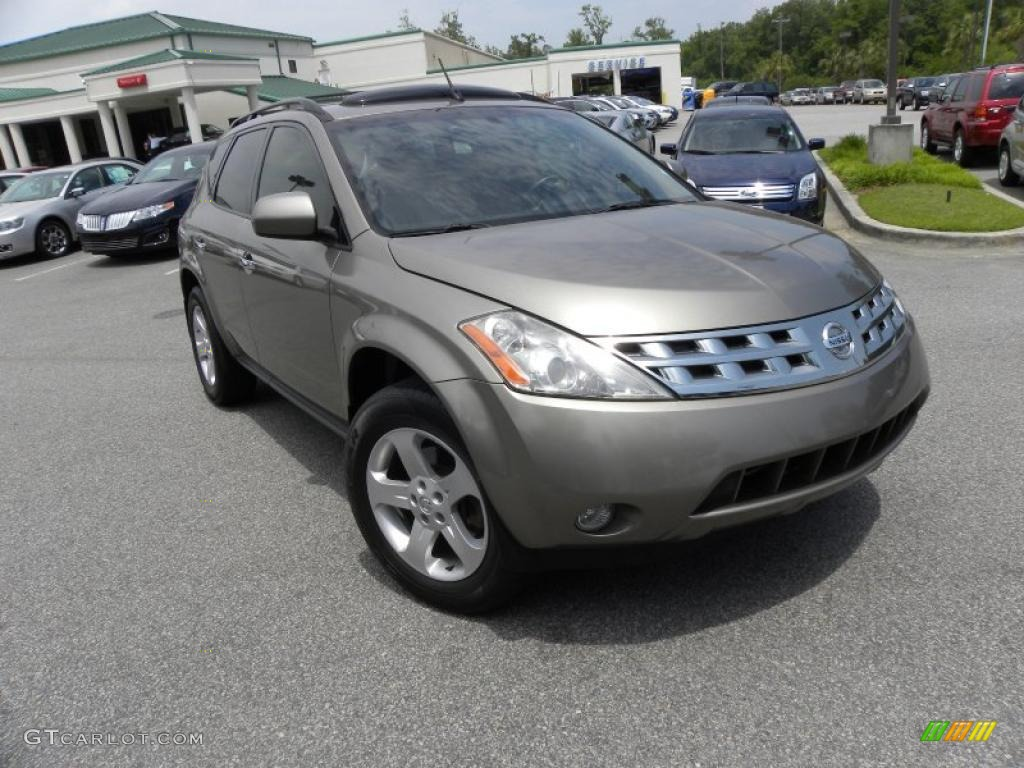 2004 polished pewter metallic nissan murano sl #29439073